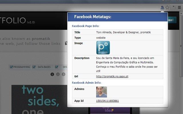 Facebook Meta Inspector
