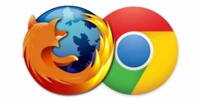 Chrome y Firefox