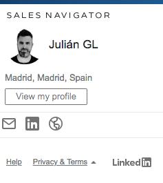 Buscar una persona en LinkedIn por su email