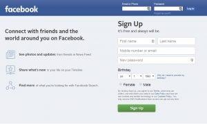 Crear cuenta ficticia en redes sociales