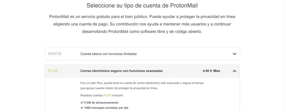 proton mail login