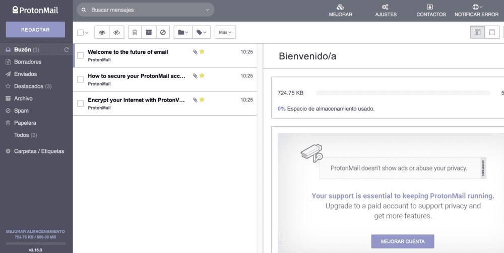 correo protonmail