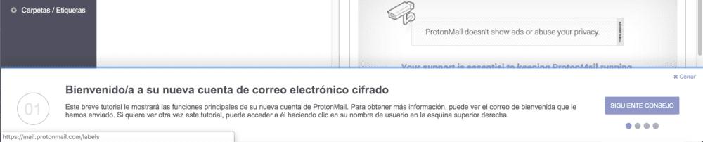 protonmail español