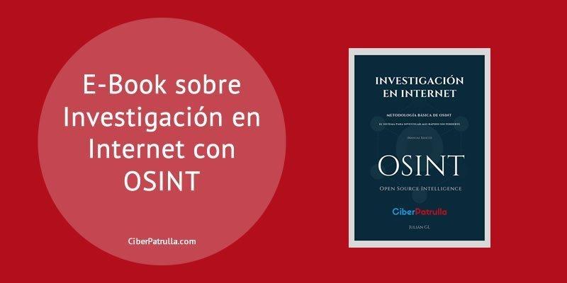 Libro Investigación en Internet con OSINT