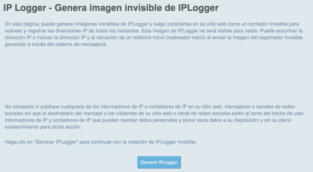 tutorial iplogger