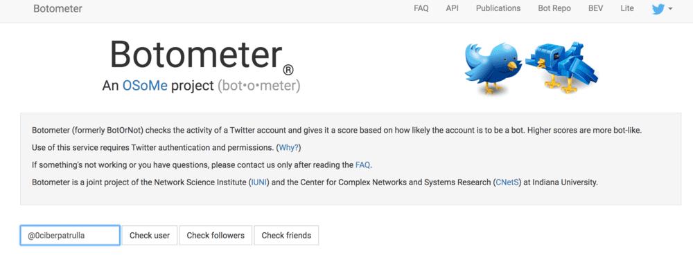 tutorial botometer