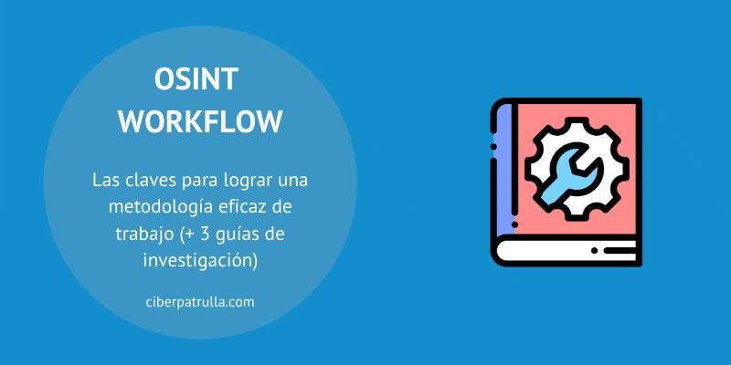 osint workflow
