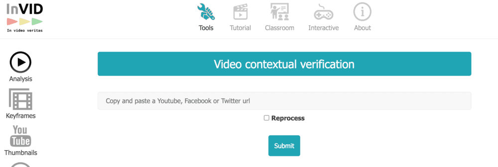 verificacion INVID