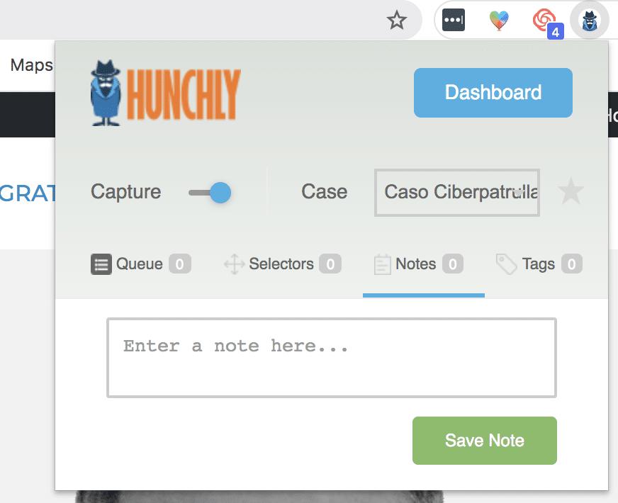 para que se utiliza hunchly
