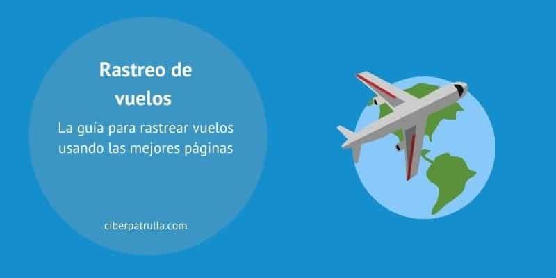 rastreo de vuelos